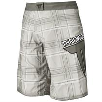 Plaid Boxing Shorts
